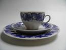 Rinki Coffee Cup and 2 Plates Arabia