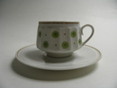 Roksana Coffee Cup and Saucer