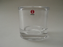 Kivi Candleholder 80 mm clear glass Iittala SOLD OUT