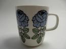 Vihkiruusu Mug blue Marimekko