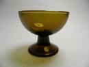 Footed bowl brown Saara Hopea