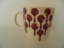 Bysantti Mug red Arabia