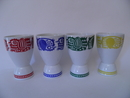 Chicken 4 Eggcups/Drinkcups Arabia